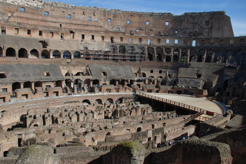 Colosseum; ancient rome; amphitheatre; historic site; landmark