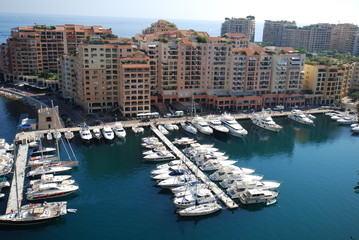 Port de Fontvieille; marina; water transportation; waterway; harbor