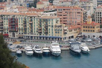 Port of Nice; marina; harbor; waterway; water transportation