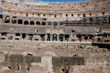 Colosseum; structure; ancient rome; geographical feature; ancient history