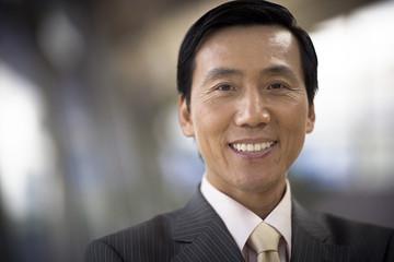 Portrait of a mid-adult businessman.