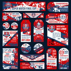 Football label vector design