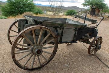 Old Mining Wagon 03