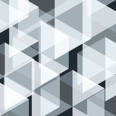 Blue white gray Mosaic abstract background