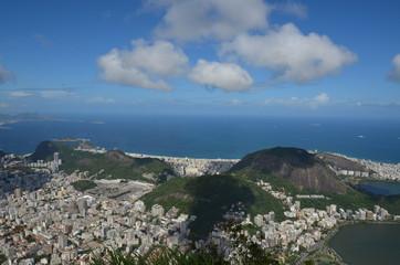 Botafogo Beach; Lagoa; sky; cloud; sea; coast