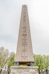 Obelisk of Theodosius or Egyptian Obelisk in Istanbul