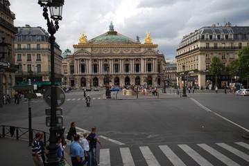 Palais Garnier; landmark; town square; urban area; city