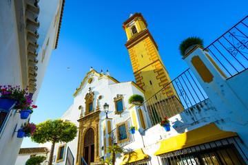 Iglesia de Ntra. Sra. del Carmen, Estepona, Andalusia, Spain