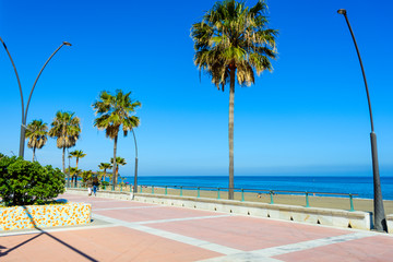 Playa de la Rada, Estepona, Andalusia, Spain