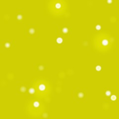 Abstract bokeh yellow light effect background