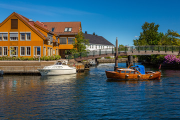 Kristiansand in the Summer. Picture of the beautiful colours of Kristiansand in the summer. These pictures were taken in 2015.