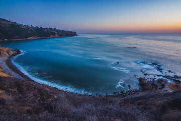 Bluff Cove After Sunset