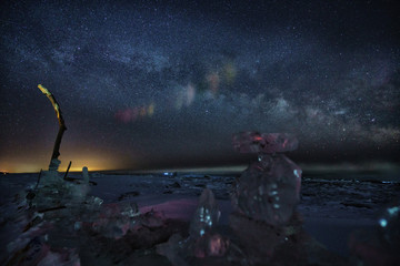 豊頃 大津海岸の星空
