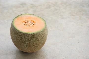 orange Japanese Melon