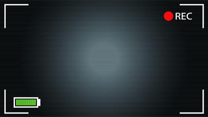 HD Camera viewfinder background