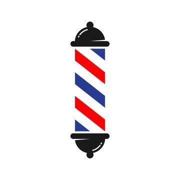 Barber logo. Barbershop icon. Vector eps 08.