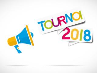 megaphone : tournoi 2018