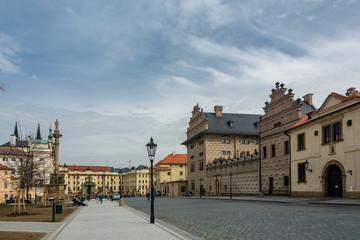 Hradcany Square in prague