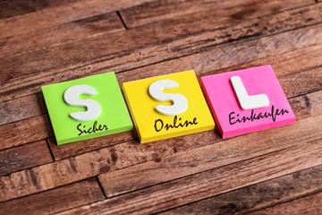 trousseau de clés : SSL (Sicher Online Einkaufen)
