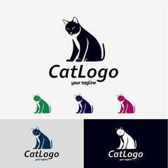 Cat Logo Designs Template