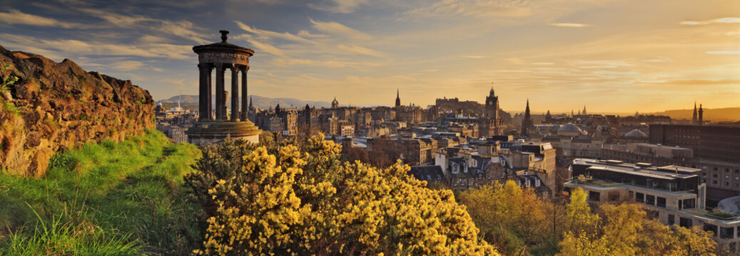 View of Edinburgh, Scotland
