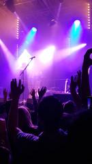 Bandauftritt von Musikern - Liveauftritt