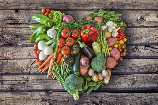 Gemüseherz