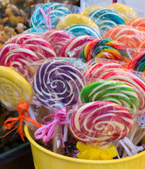 delicious swirl candy and sweets for kids