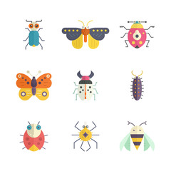 Colorful Bugs Collection