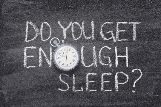 enough sleep watch
