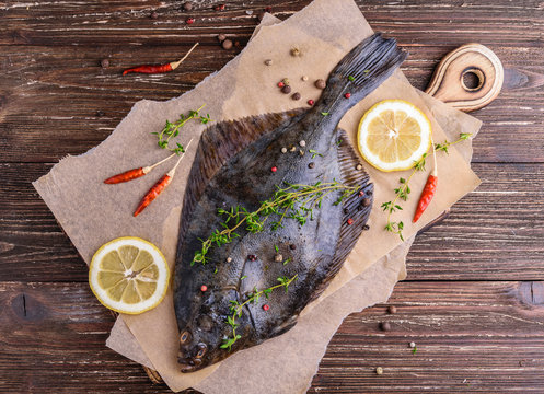 Cooking flounder fish