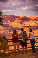 touristes au Grand Canyon