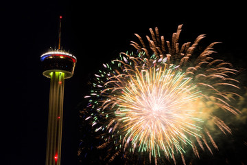 Fieesta San Antonio Opening Night Celebration
