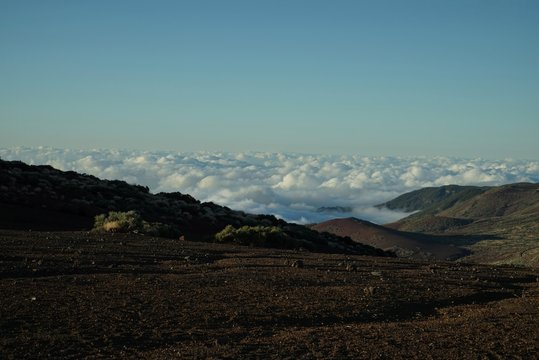 .......Spanien, Teneriffa, Teide, Berg, Sonnenuntergang