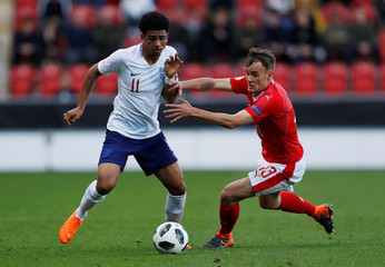UEFA European Under-17 Championship - Group A - Switzerland v England