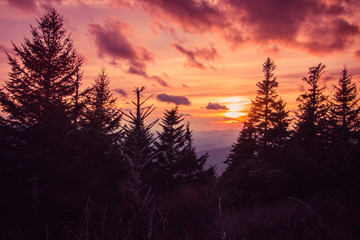 Blue Ridge Sundown