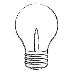 grunge bulb electric energy power object