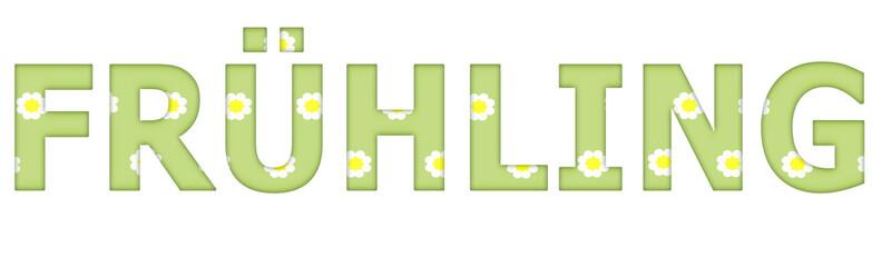 Frühling - Text