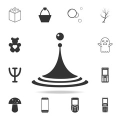 Water drop icon. Detailed set of web icons and signs. Premium graphic design. One of the collection icons for websites, web design, mobile app