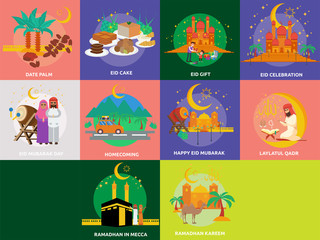 Ramadan and Eid Mubarak Conceptual Design