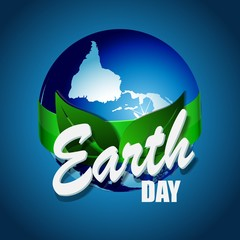 Earth Day. Eco friendly ecology concept. Flat Vector illustration. Earth day flat concept. World environment day background. Save the earth.