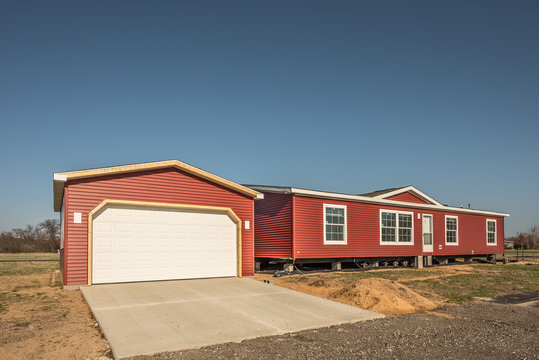 Newly Arrived Manufactured Home
