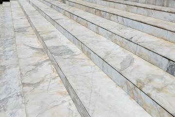 Keuken foto achterwand Trappen Empty marble stair - Outdoor modern architecture