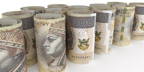 200 PLN banknoty