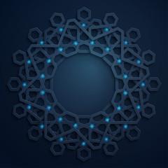Arabic geometric pattern - morocco islamic  ornament