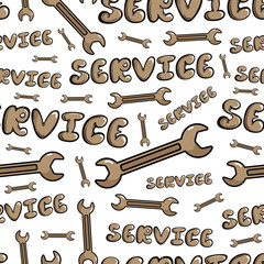 Seamless pattern service and wranch