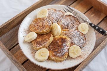 Bananen Pancakes