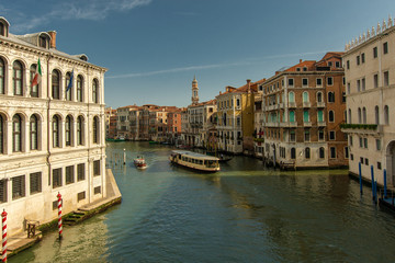 Watertaxi on Canal Grande