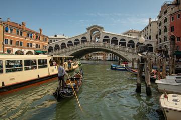 Rush Hour in Venedig