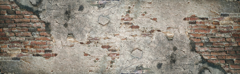 Deurstickers Wand Old brick wall texture background